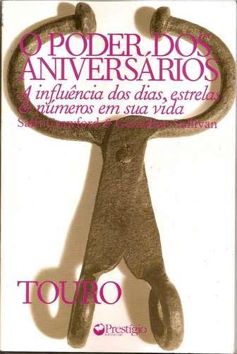 Livro: O Poder Dos Aniversários Signo Touro