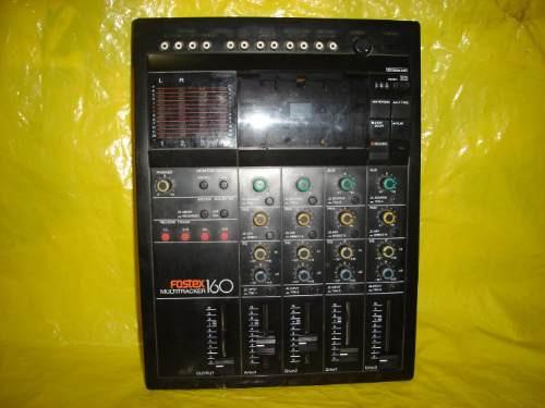 Gravador Fostex Multitracker -160 - Mineirinho-cps - C/pit