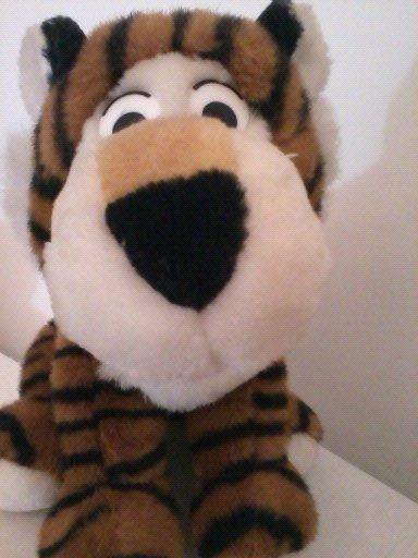 Tigre De Pelúcia 27cm Muito Fofo