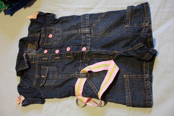 Macacao Em Jeans Da Gymboree - Tam 5