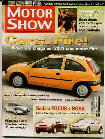Motor Show - Nov/2000 - Focus Sedan X Bora - Alfa 147