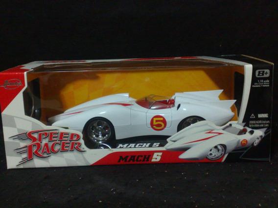 Speed Racer - Mach 5 - Escala 1:18 - Metal - Fantástico!!