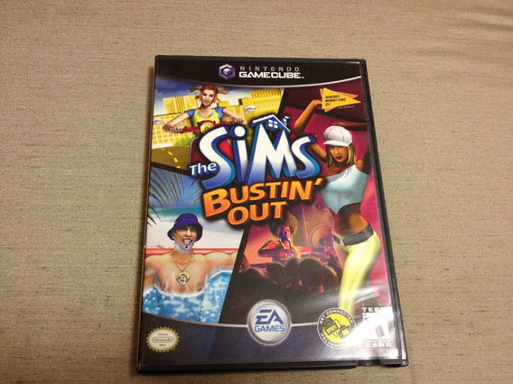 The Sims Bustin Out Nintendo Gamecube