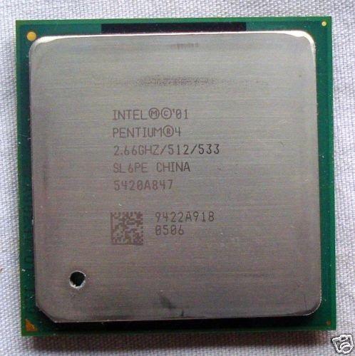 Processador Intel Pentium 4 2.66ghz Socket 478