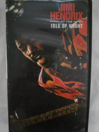 Vhs - Jimi Hendrix - Live At The Isle Of Wight (vhs)