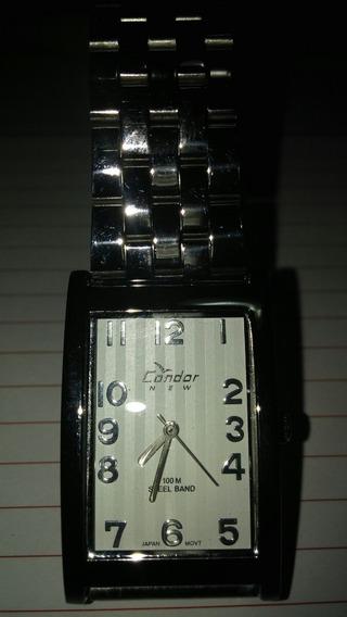 Relógio Condor Unissex A Quartz Fundo Branco
