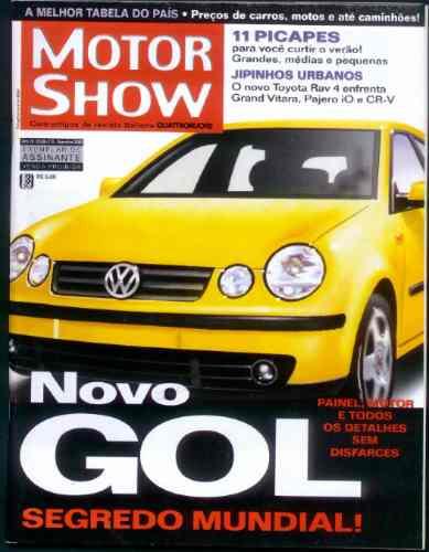 Motor Show - Dez/2000 - Novo Gol
