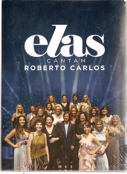 Dvd Roberto Carlos - Elas Cantam - Novo Lacrado***