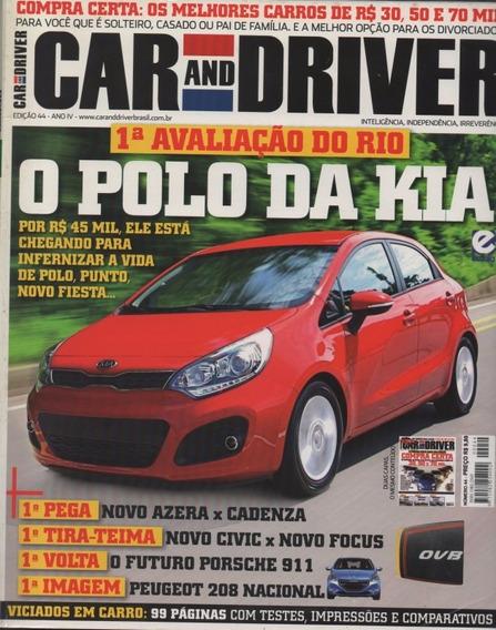 Car And Driver N°44 Azera Cadenza Civic Ex Focus Se Santa Fé