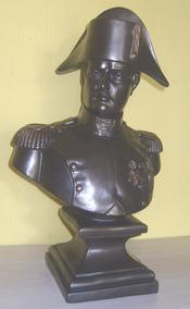 Busto Napoleão Bonaparte De Petit Bronze-peti ( Cod 180 )