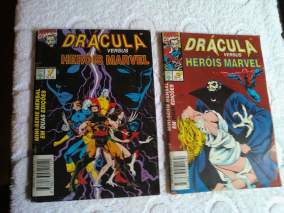 Dracula Vs Herois Marvel