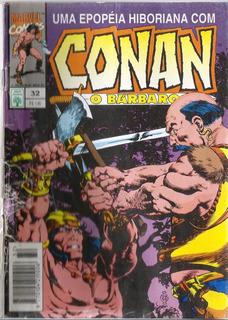 073 Revista Hqs 1993- Rvt- Conan O Bárbaro- Nº. 32 A Legião