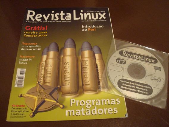 Revista Do Linux Número 7 - Julho/2000