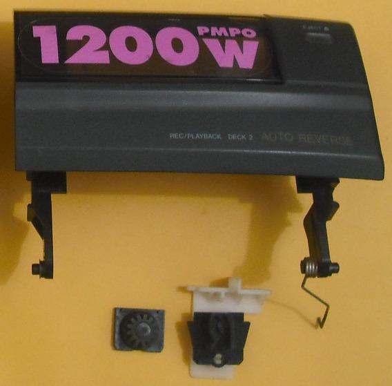 Porta Do Deck Som System Aiwa Ns800hp Deck 2