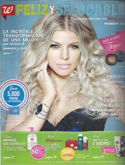 Revista Walgreens: Fergie (de Porto Rico) De 2013