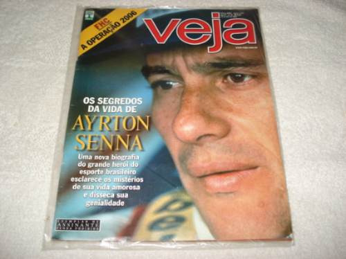 Ayrton Senna Revista Veja Abril/2004 Os Segredos Da Vida
