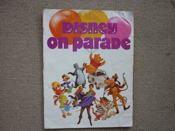 Disney On Parade - Programa 1974