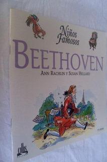 * Livro Usado - Beethoven - Niños Famosos Em Espanhol