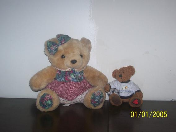 Lote Com 2 Ursos De Pelúcia