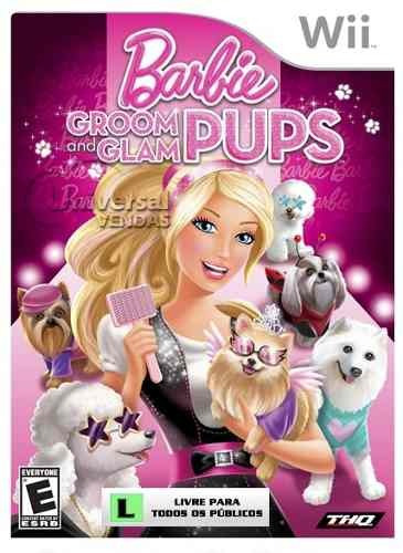 Super Game Barbie Groom And Glam Pups Para Wii
