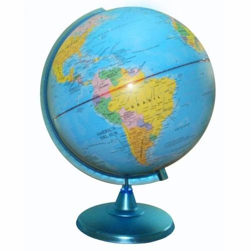 Educando Globo Terráqueo Político 25 Cm Cartografía 257w