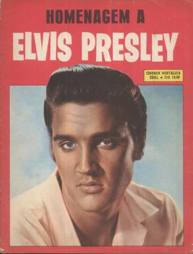 Elvis Presley Revista Homenagem A Elvis Presley Cinemin Ebal