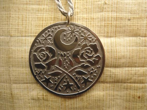 Pingente Ciganos Ciganas, Rosas, Lua E Estrelas, Esotérico