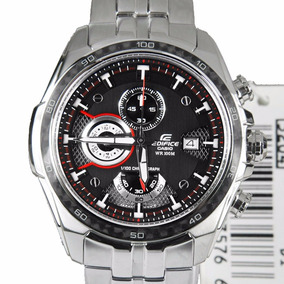 Relógio Masculino Casio Edifice Aço Inox Grande Original