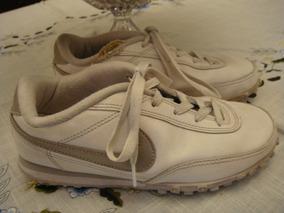 052d648b282 Tenis Nike Branco Prata Estilo Chuteira Tam. 35