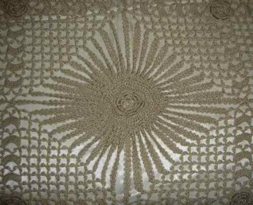 Colcha De Crochê - Casal - Inedita - Feita À Mão