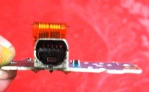 Placa Conector Filmadora Sony Handycam Dcr-dvd105