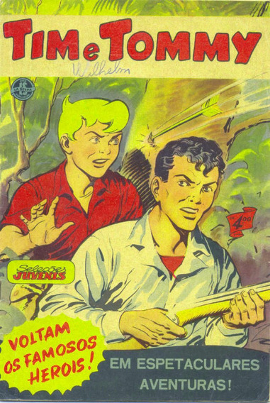 Seleções Juvenis 40 - La Selva-1955 - Capa Jayme Cortez