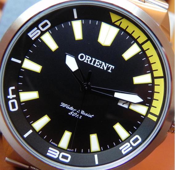 Relógio Orient Masculino Sport Aço Inox Original Nota Fiscal