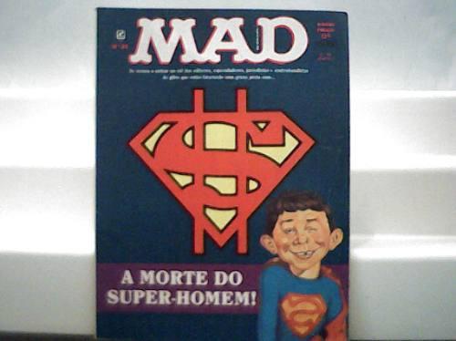 Revista Mad Nº 89 / A Morte Do Super Homen / Dezembro 1992
