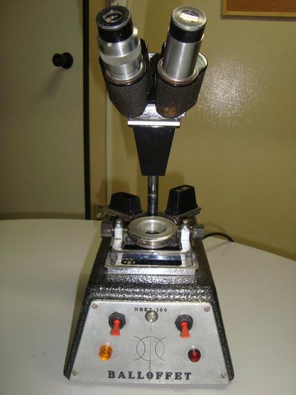 Microscópio Estereoscópico Nachet Balloffet