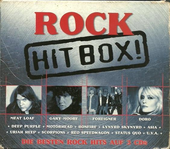 Rock In Box Lou Reed Motorhead Poison Deep Purple Uriah Heep