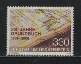 Selos Liechtenstein 2009 Imóveis Registro Público Serie Comp