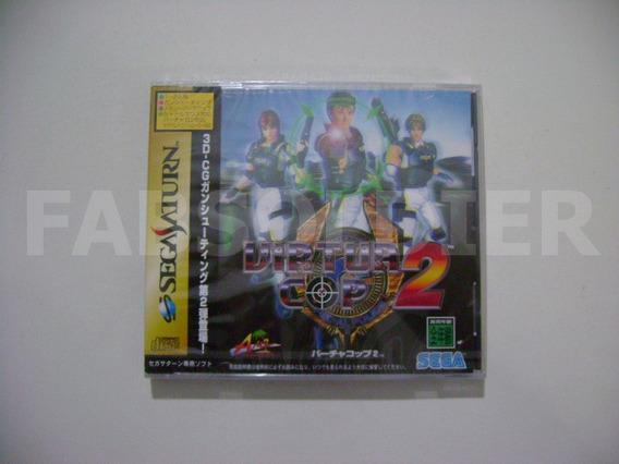 Virtua Cop 2 Original Japonês Novo Lacrado!