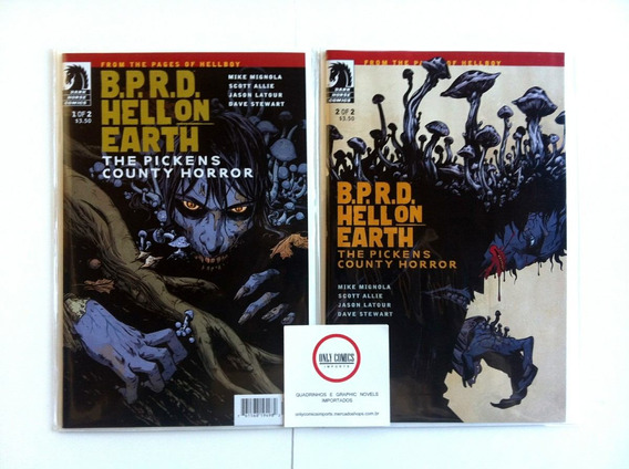 Bprd - Pickens County Horror - Pack # 1 Ao 2 (2012) Hellboy