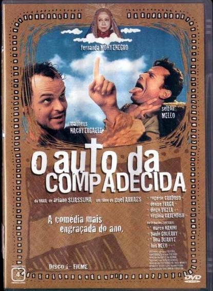 O Auto Da Compadecida - Filme E Minissérie - Dvd Duplo Novo
