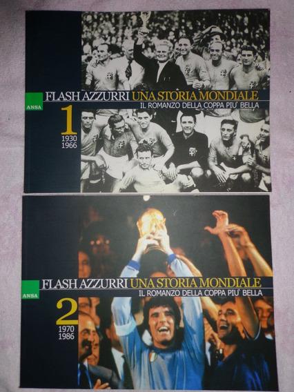 Livro Selecao Italia Historia Na Copa 1 - 2 Volume