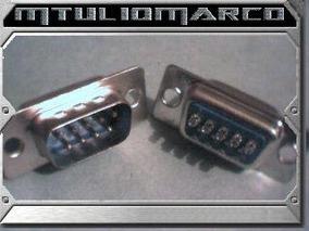 Conector Db9 - Componente Eletronico Ci Peça Avr Atmel Pic