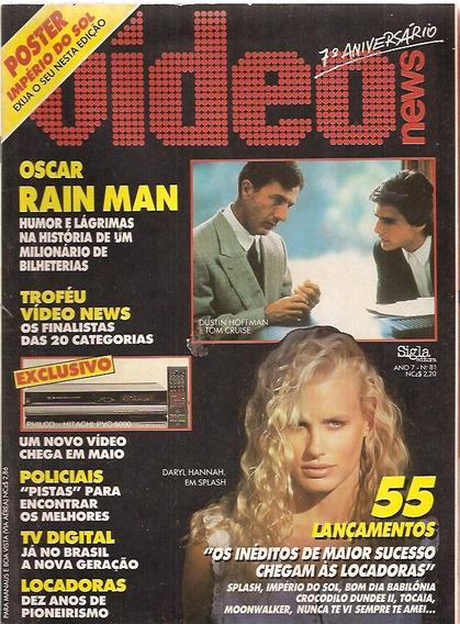 Revista Vídeo News Nº 81 - Oscar Raian Man / Com Poster