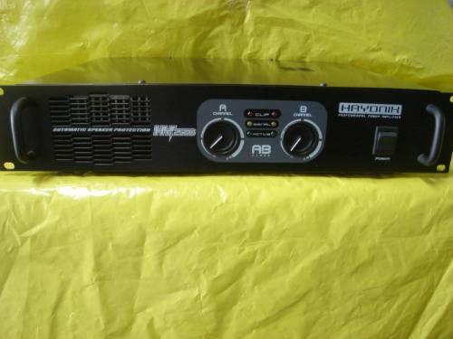 Potência (amplificador) Hayonix Hy-2.500 Nova - Impecavel.