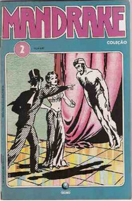 Mandrake Nº 2 - Ed. Globo - Outubro De 1989