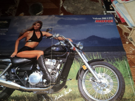 Kawasaki Vulcan 500ltd Poster