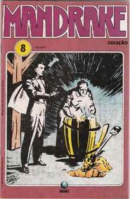 Mandrake Nº 8 - Ed. Globo - Junho De 1990