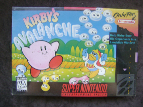 Kirbys Avalanche Americana E Lacrada.confira!!