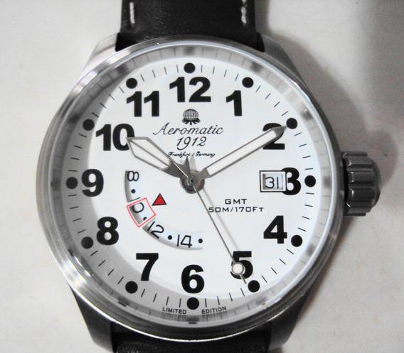 Relógio Alemão Aeromatic 1912 - Quartz - Edição Limitada