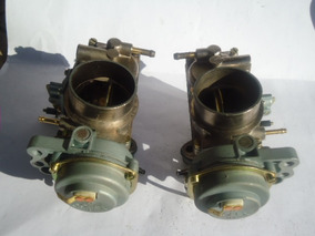Carburadores Dupla Da Kombi/fusca/brasilia/puma/1.6 Alc/gas